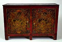 Large Painted Cabinet